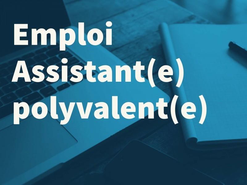Assistant(e) polyvalent(e) – PARIS [poste à pouvoir immédiatement]