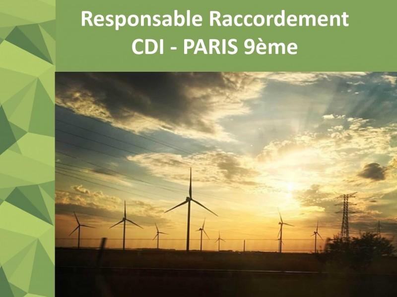 [JOB] CDI – Responsable Raccordement et lots Electriques (H/F) – Paris 9ème