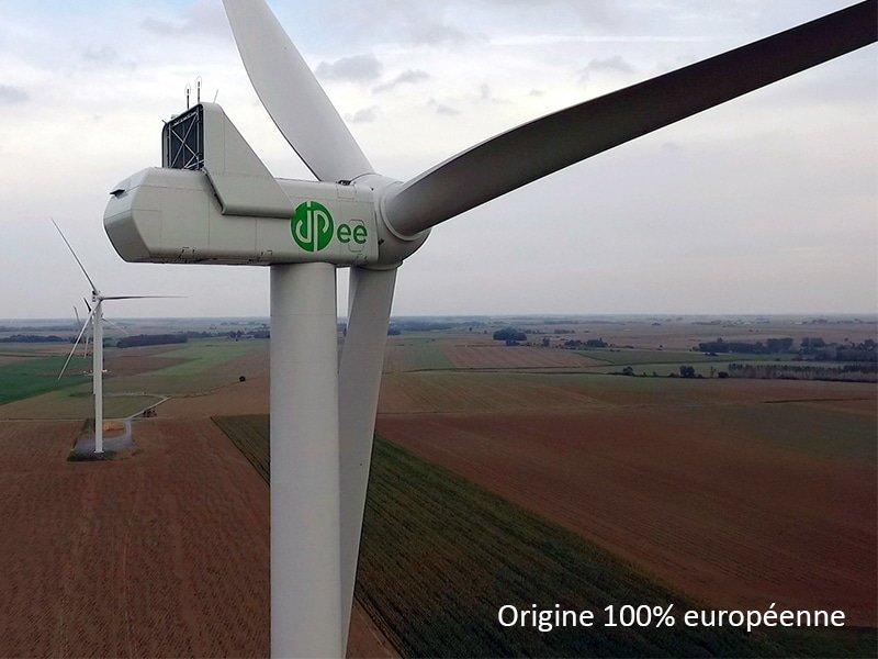 Démentis suite à l'article de La voix du Nord – Nos éoliennes sont 100% européennes