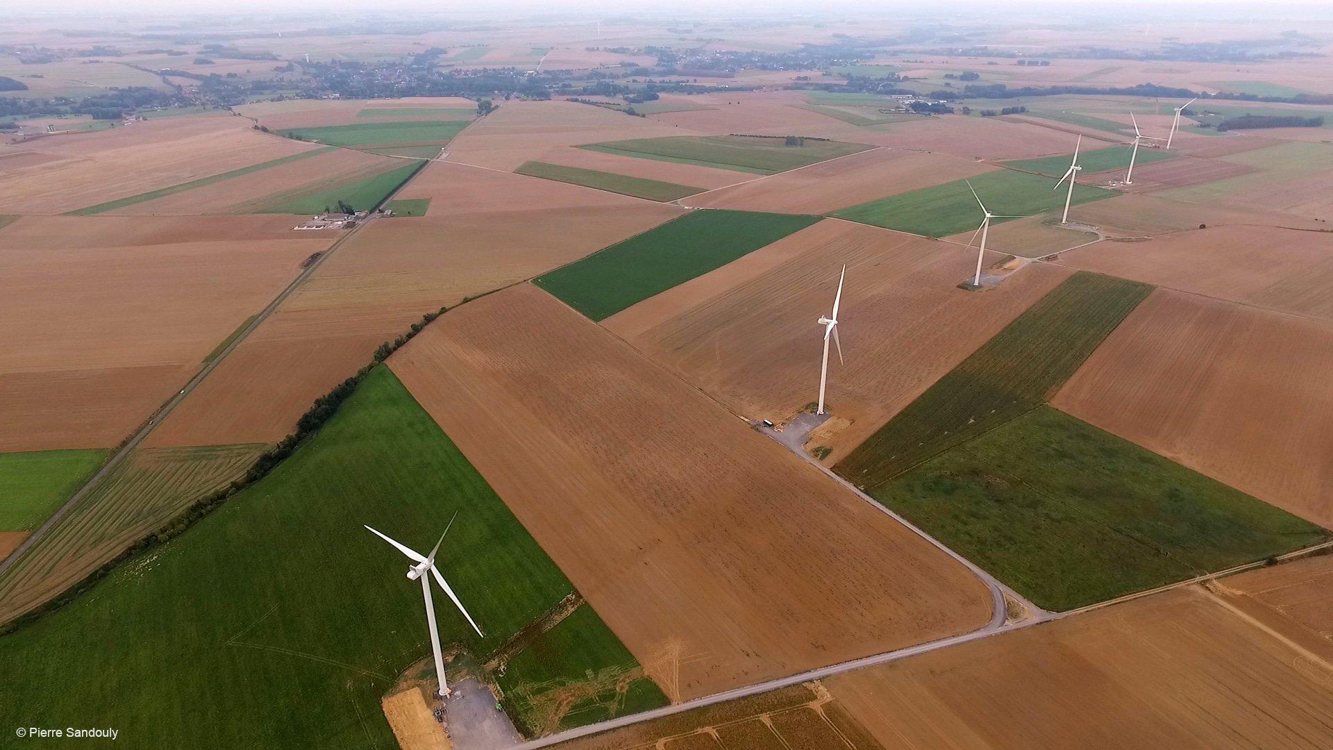 La société JP Energie Environnement fait confiance à EDF EN Services pour la maintenance de 4 parcs éoliens
