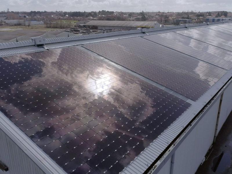 [Solaire] Sur le port de Nantes, l'énergie solaire version XXL