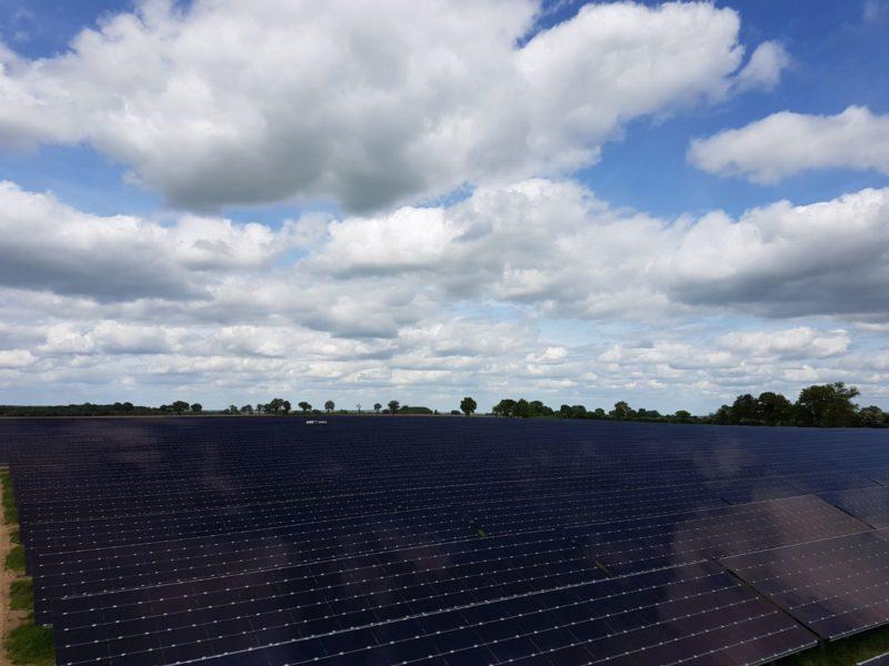 [Solaire] Mise en service d'une nouvelle centrale solaire à Casteljaloux (47)