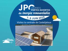 Visitez la centrale solaire de Casteljaloux – Journées Portes Ouvertes des énergies renouvelables du 7 au 8 juin